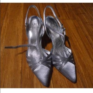 Brand New Sparkly Silver Pumps